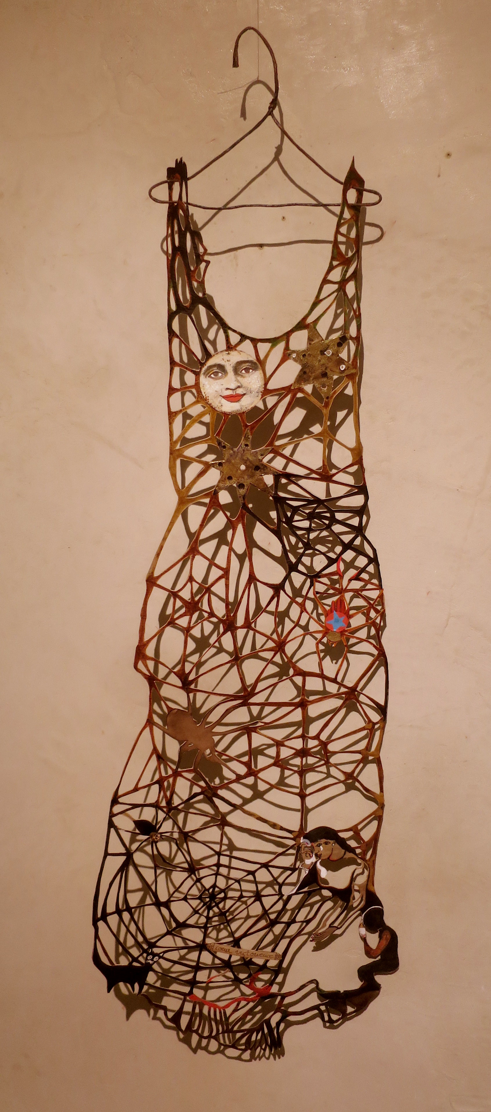 Robe toile d'araignée